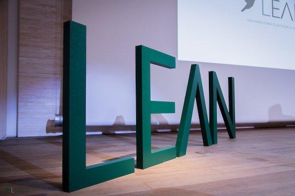 Logo letras LEAN