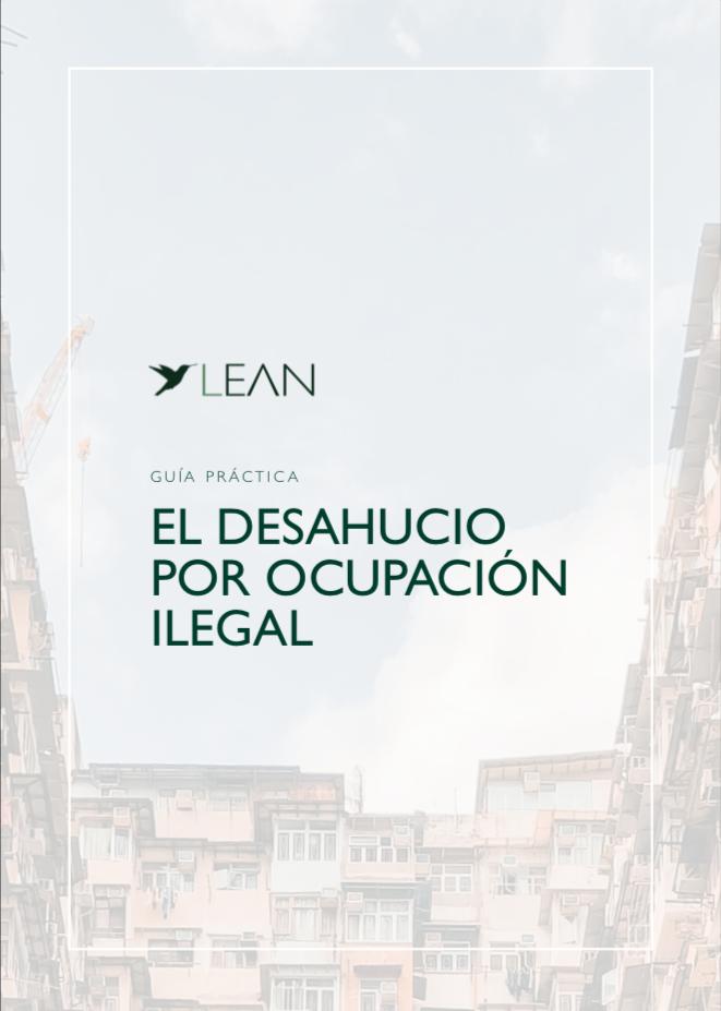 Desahucio por ocupación ilegal | Guía PDF